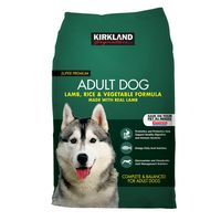 Kirkland Signature Lamb Rice & Vegetable Dog Food, 40 lb