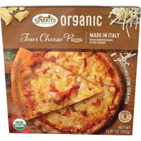 Sprouts Organic Four Cheese Pizza