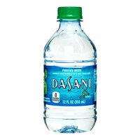 DASANI Purified Water Bottles Enhanced with Minerals, 12 fl oz, 8 Pack
