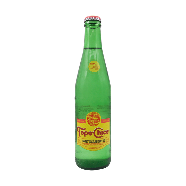 Topo chico Grapefruit Carbonated Mineral Water, 12 fl oz