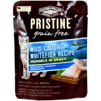 Castor & Pollux Natural Petworks Pristine Grain Free Wild-caught Whitefish Recipe Morsels In Gravy Adult Cat Food