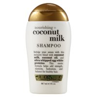 OGX Nourishing Coconut Milk Shampoo, 3 Oz