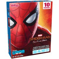 Kellogg's Marvel Spider-Man Far From Home Assorted Fruit Snacks 8 oz 10 ct