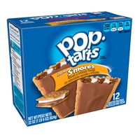 Kellogg's Pop-Tarts Breakfast Toaster Pastries Frosted S'mores