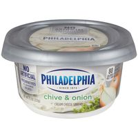 Kraft Philadelphia Chive & Onion Cream Cheese Spread