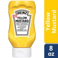 Heinz Yellow Mustard, 8 oz Bottle