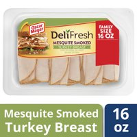 Oscar Mayer Deli Fresh Mesquite Smoked Turkey Breast Lunch Meat, 16 oz Package