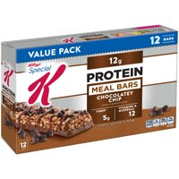 Kellogg's Special K, Protein Meal Bars, Chocolatey Chip, 19 Oz, 12 Ct