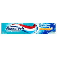 Aquafresh Extra Fresh + Whitening Fluoride Toothpaste Fresh Mint, 5.6 Oz