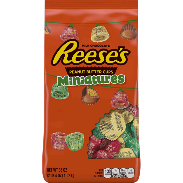 Reese's REESE'S Holiday Peanut Butter Cups Miniatures