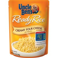 UNCLE BEN'S Ready Rice: Creamy Four Cheese, 8.5oz