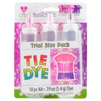 Create Basics 3 Color Tie Dye Kit Princess, Trial Size Pack