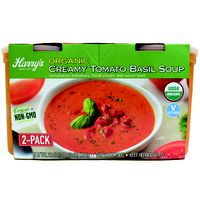 Harry's Organic Tomato Basil Soup, 2 x 30 oz
