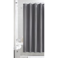 Mainstays Waffle Textured Fabric Shower Curtain