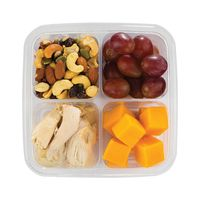 Chicken, Cheese & Grapes Snack Box