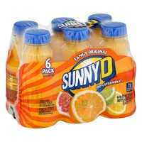 Sunny D Orange Juice, 10 Fl. Oz., 6 Count