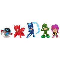 PJ Masks Collectible Figure Set - 5 Pieces