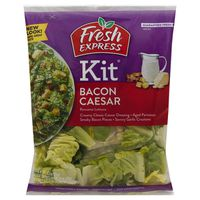 Fresh Express Bacon Caesar Salad Kit