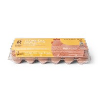 Cage-Free Fresh Grade A Large Brown Eggs - 12ct - Good & Gather™