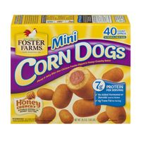 Foster Farms Corn Dogs, Mini, Honey Crunchy Flavor