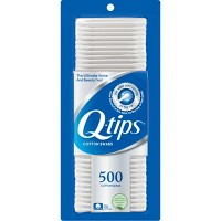 Q-Tips Cotton Swabs - 500ct