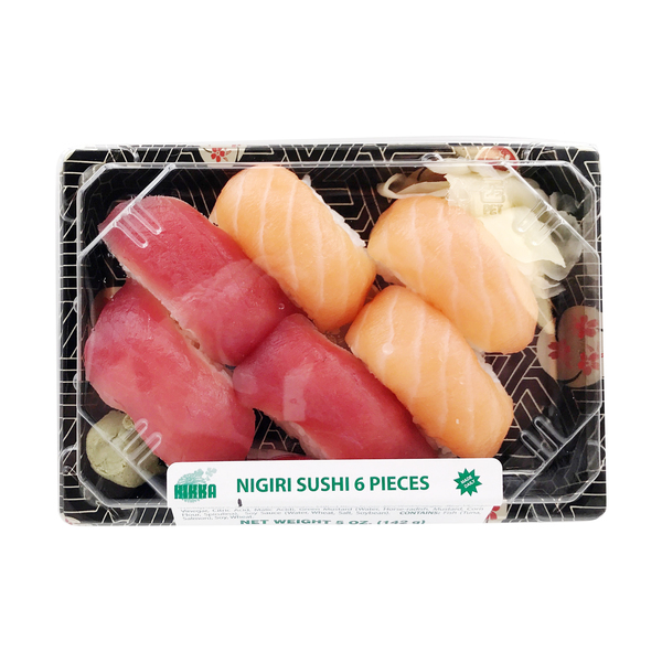 Nigiri Sushi 6pc, 5 oz