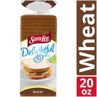 Sara Lee Delightful Wheat Bread, 45 Calories per Slice, 20 oz