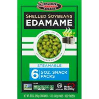 Seapoint Farms Edamame Shelled Soybeans Snack Packs