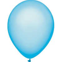 "Way To Celebrate 15 Ct. 12"" Plain Electric Blue Balloons"