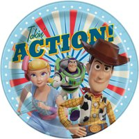 AR Interactive Toy Story Paper Dinner Plates, 9in, 8ct