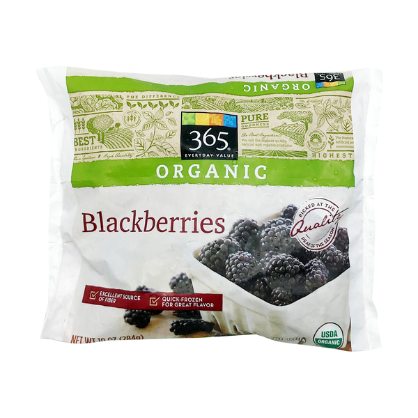 365 everyday value® Organic Frozen Blackberries, 10 oz
