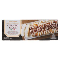 Michelian Gelato Cake Salted Caramel Made In Italy, 2.2 lb