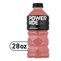 Powerade Strawberry Lemonade, Ion4 Electrolyte Enhanced Fruit Flavored Sports Drink W/ Vitamins B3, B6, And B12, Replinish Sodium, Calcium, Potassium, Magnesium