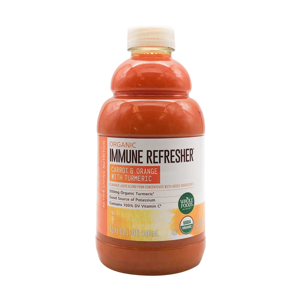 Whole foods market™ Organic Carrot Orange Turmeric Juice