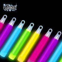"Way to Celebrate! Value Pack of 4"" Glow Stick, 30ct, Multi Colors"