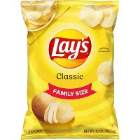 Lay's Classic Family Size Potato Chips - 10oz