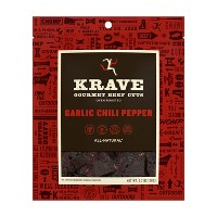 Krave Garlic Chili Pepper Gourmet Beef Cuts Jerky - 2.7oz