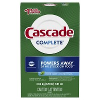 Cascade Complete Fresh Scent Powder Dishwasher Detergent