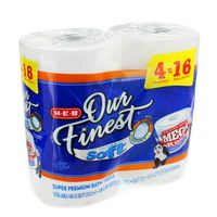 H-E-B Our Finest Bath Ultra Soft Mega Tissue Roll