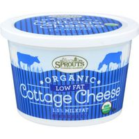 Sprouts Organic Low Fat Cottage Cheese