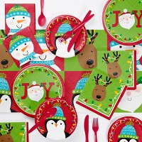 Santa and Friends Party Supplies Collection