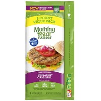 Morningstar Farms Grillers Original Frozen Veggie Burger - 8ct