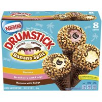 DRUMSTICK Limited Edition Ice Cream Cones Variety Pack 8 ct Box