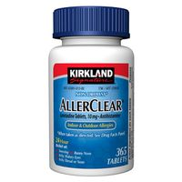 Kirkland Signature AllerClear 10 mg Tablets, 365 ct