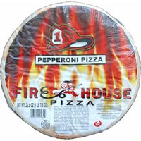 Firehouse Pepperoni Pizza