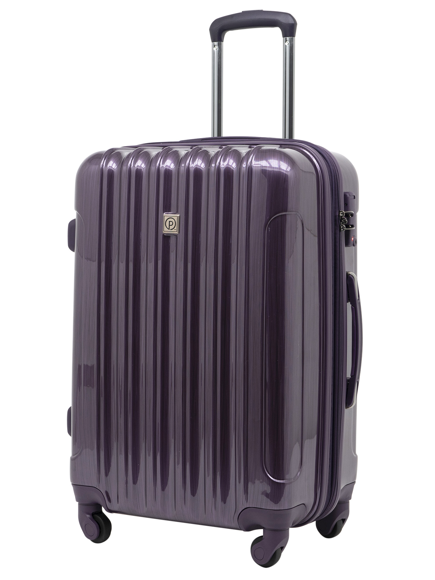 Protege Briarleigh Rolling Upright Luggage Purple (Checked or Carry On)