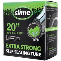 Slime Self-Sealing Smart Replacement Bike/Bicycle Inner Tube, Schrader 20'x1.5-2.125' - 30049