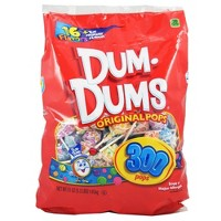 Dum Dums Original Assorted Flavors Lollipops - 300ct