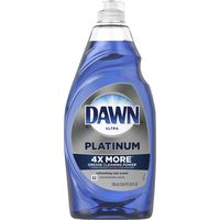 Dawn Ultra Platinum Dishwashing Liquid Dish Soap, Refreshing Rain