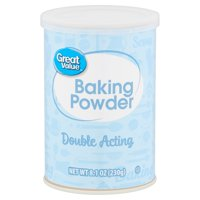 Great Value Double Acting Baking Powder, 8.1 oz
